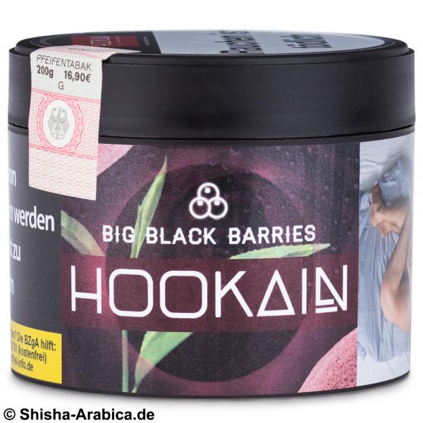Hookain Tobacco - Big Black Barries 200g