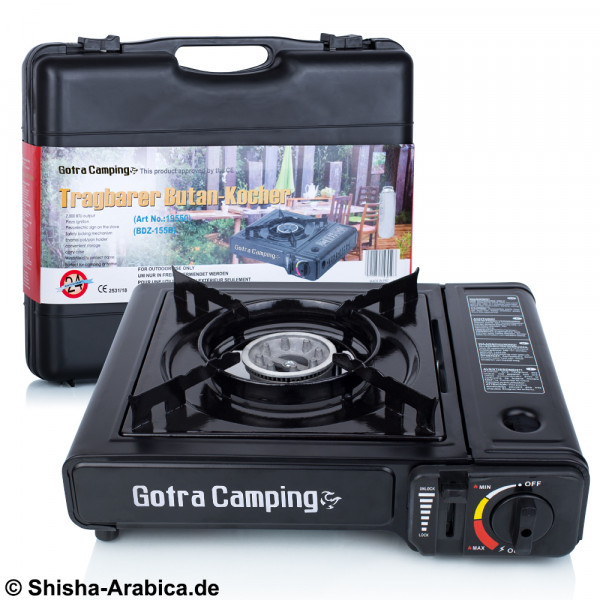 Gotra Camping Transportabler Gasbrenner