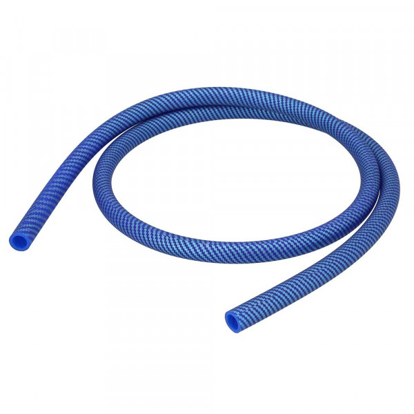 Silikonschlauch Softtouch Carbon-Style Blue