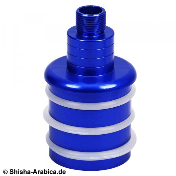 Ks Glasrauchsäulen-Adapter Set Blau