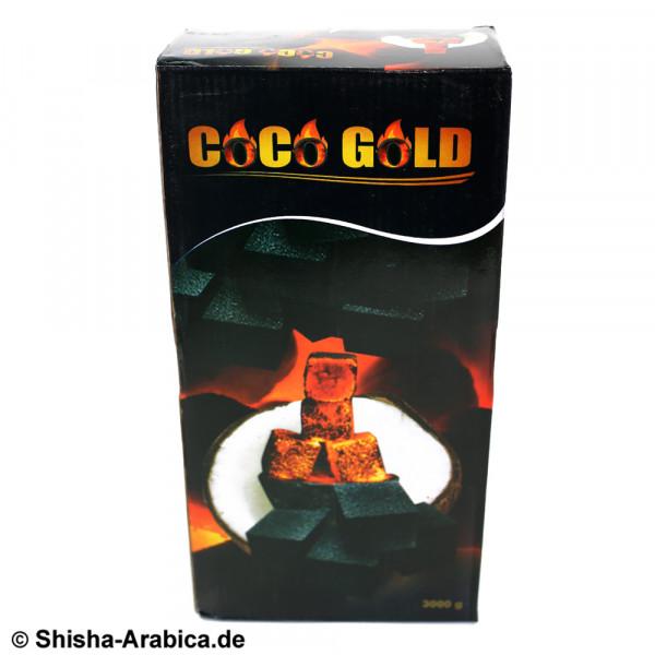 Coco Gold Shisha Kohle 3kg