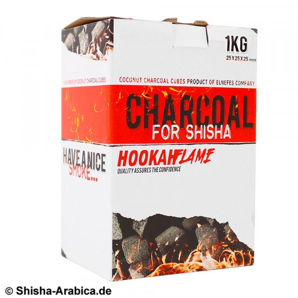 Hookah Flame Coconut Charcoal Shisha Kohle 1kg