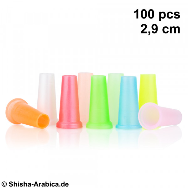 Hygienemundstücke 100 pcs 2,9cm