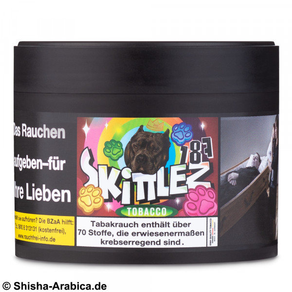 187 Tobacco Skittlez 200g TPD2 Tabak