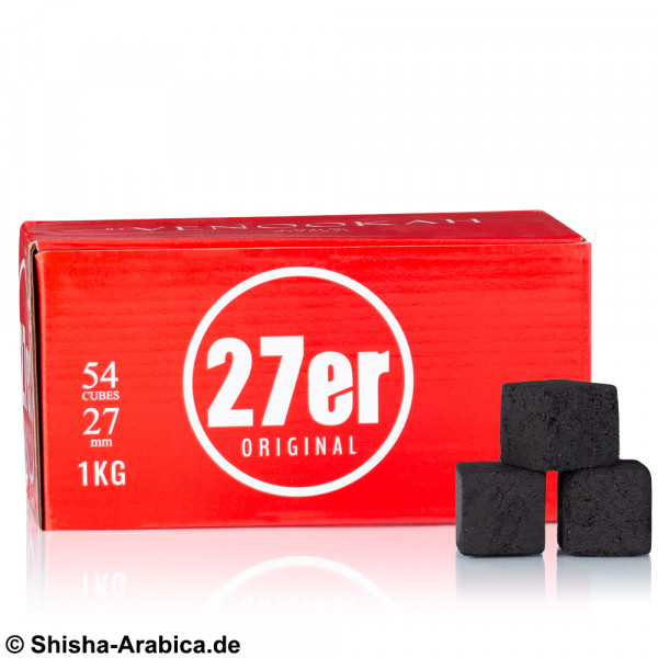27er Original Naturkohle - 1kg