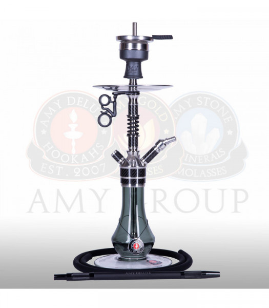 Amy Deluxe SS24.02 Carbonica Gear S Black Shisha