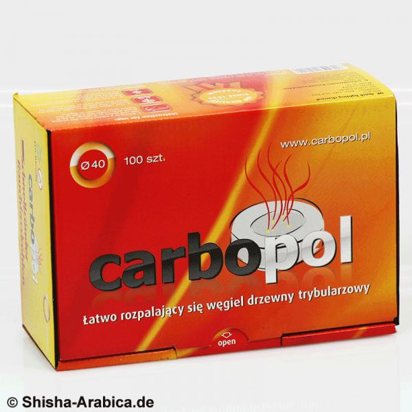 Carbopol 40mm Shisha Kohle 100er Box