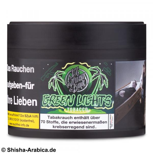 187 Tobacco Green Lights 200g TPD2 Tabak