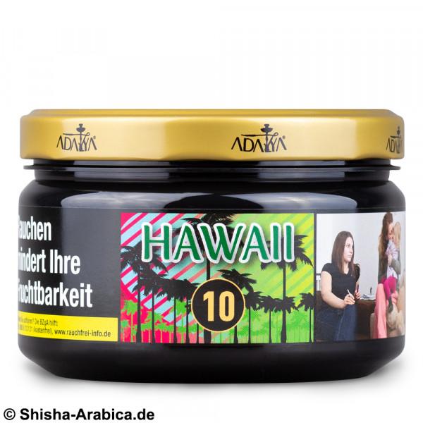 Adalya No.10 Hawaii 200g Tabak