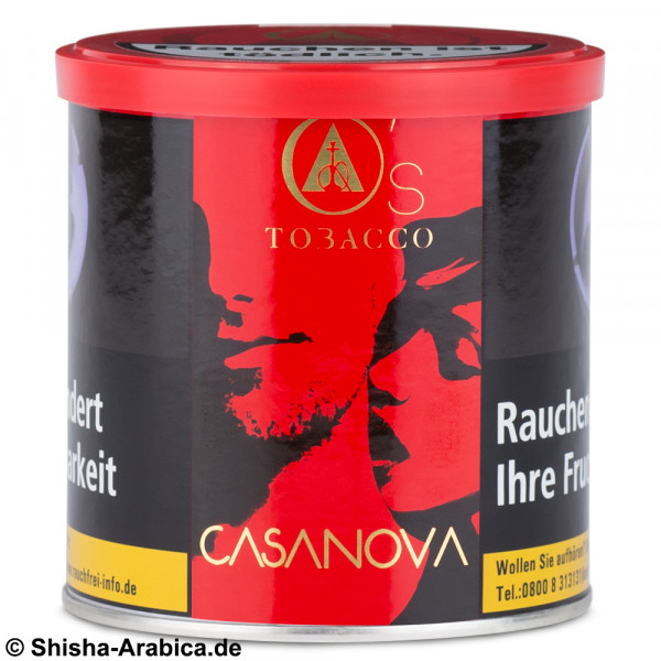 O's Tobacco Red - CasaNova 200g Tabak