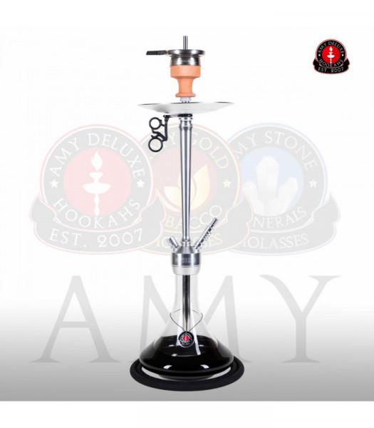 Amy Deluxe 066.01 Alu Deluxe Black (Chrome Säule)