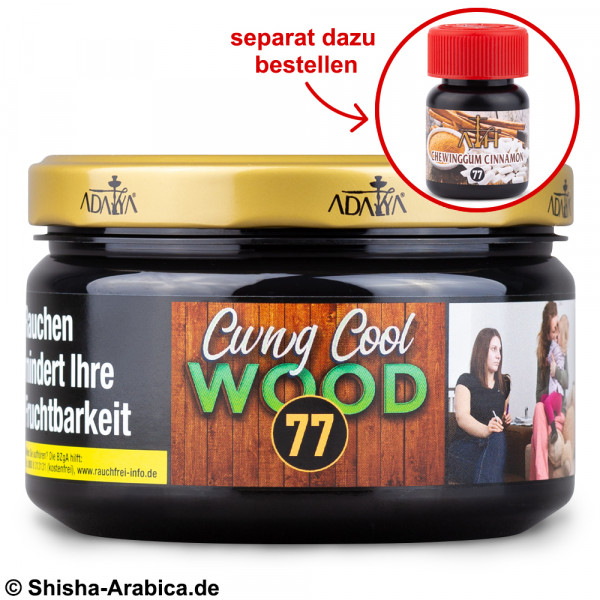 Adalya No.77 Cwng Cool Wood 200g Tabak
