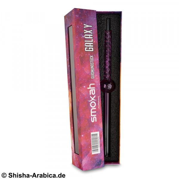 Smokah Glas Griff Galaxy Pink