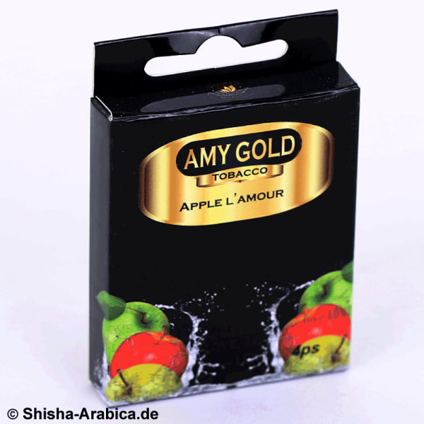 Amy Gold My Smoke Kartusche Apple L'Amour 4er Pack