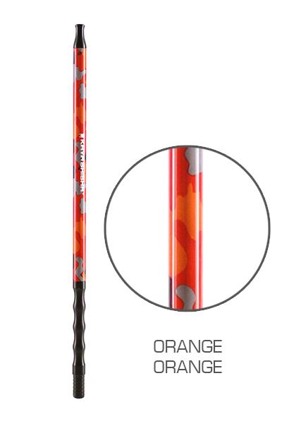 Kaya Camouflage Colors Aluminium Mundstück Orange