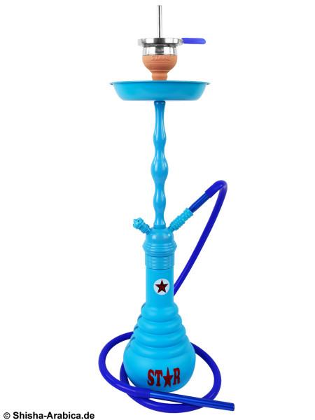 Amy 4-Stars 630D Shisha Blue (blaue Säule)
