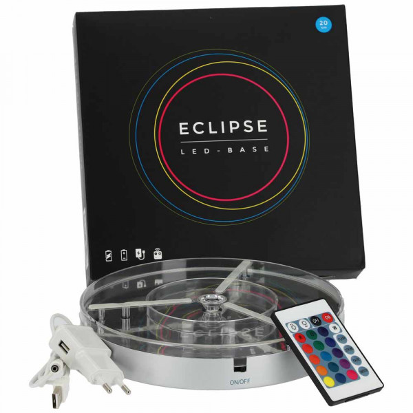 Eclipse LED-Untersetzer 20cm