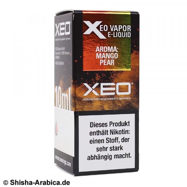 XEO E-Liquid 0mg Mango Pear