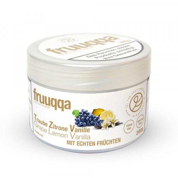 Fruuqqa - Traube Zitrone Vanille 200g