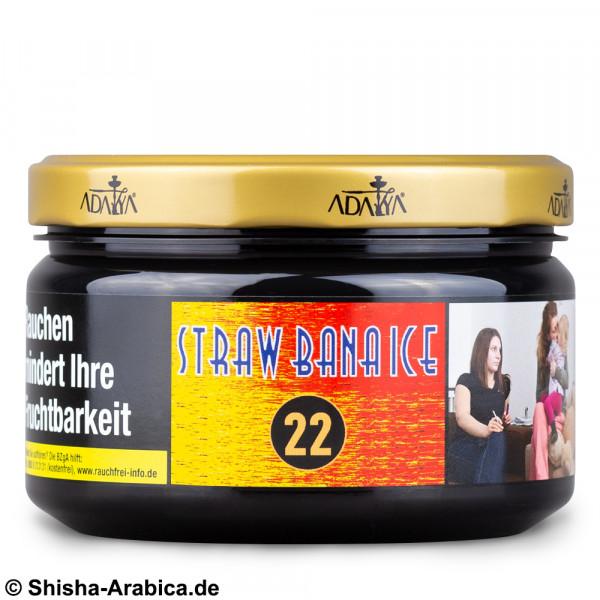 Adalya No.22 Straw Bana Ice 200g Tabak