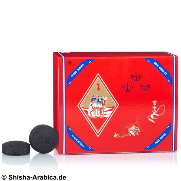 Three Kings Selbstzünderkohle 33mm 100er Box