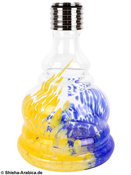 MYA MX Bubble Blue/Yellow Glas