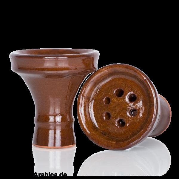 Flat Bowl Brown