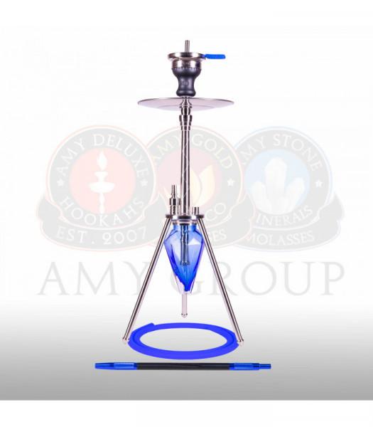 Amy Deluxe 001.01 UNIO Blue Shisha