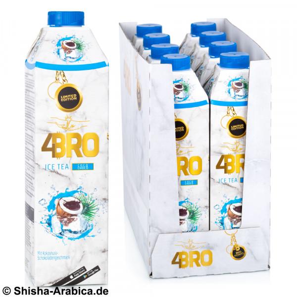4BRO Ice Tea - Coco Choco - 8 x 1L