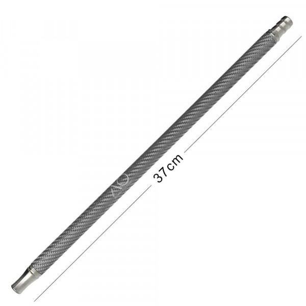 AO Carbon Mundstück Edelstahl V2A Silver