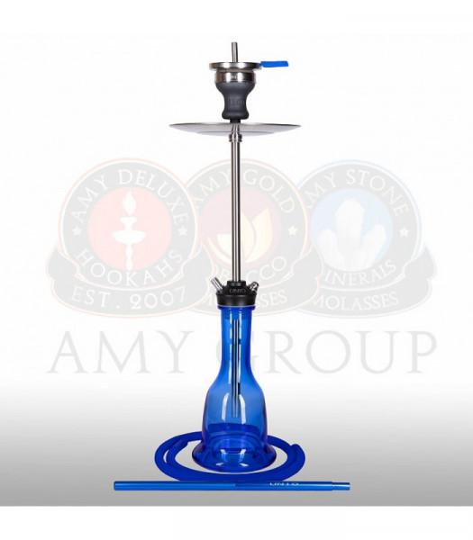 Amy Deluxe 004.01 UNIO Blue Shisha