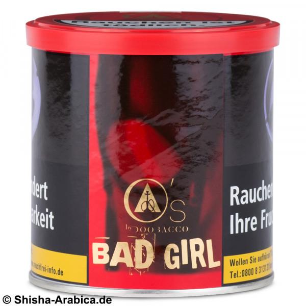 O's Tobacco Red - Bad Girl 200g Tabak