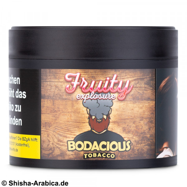 Bodacious Tobacco - Fruity Explosure 200g Tabak